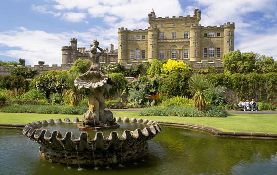 A visit to nearby Culzean Castle is a must during your stay