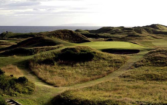 Photograph of Royal Troon golf course